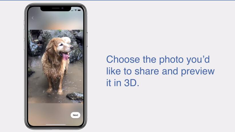 Ya puedes publicar en Facebook fotos en 3D (los que mejor salen son los animalitos)