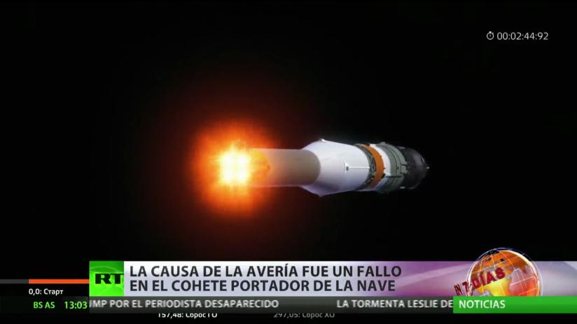 La tripulación de la nave Soyuz aterriza de emergencia poco después de despegar