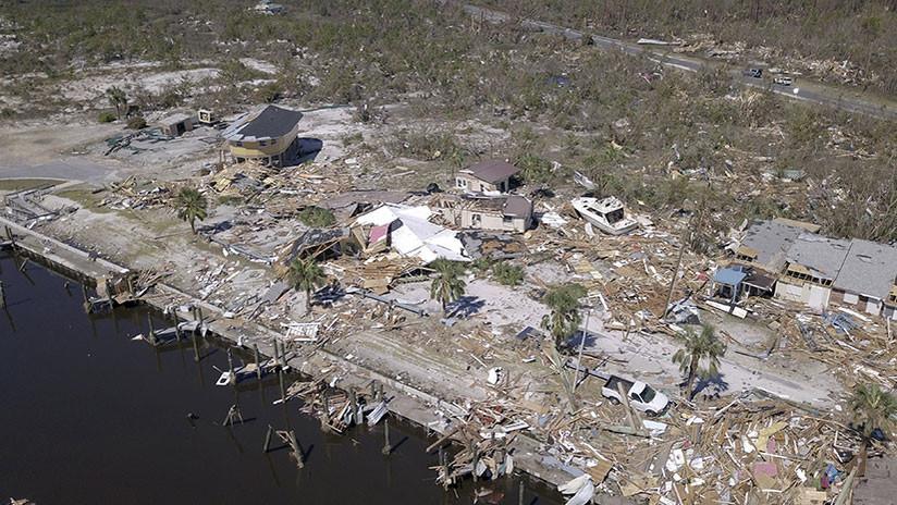 FOTOS: El antes y el después de los barrios pulverizados por el devastador huracán Michael