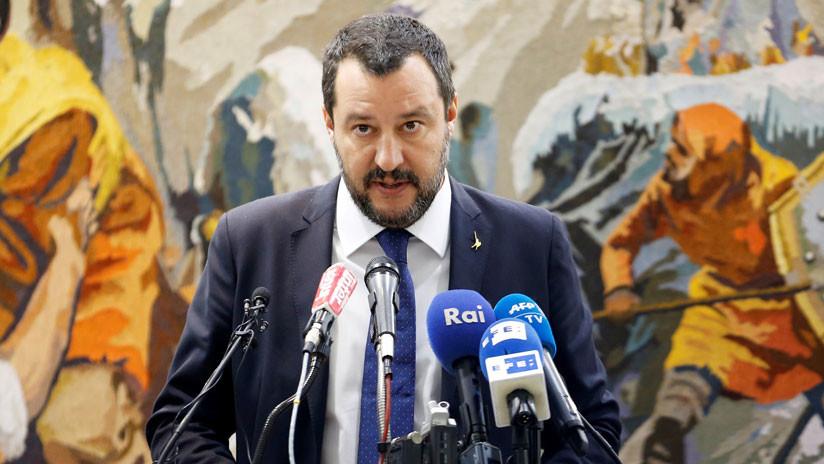 """Salvini sobre las sanciones antirrusas: """"Son un absurdo social, cultural y económico"""""""