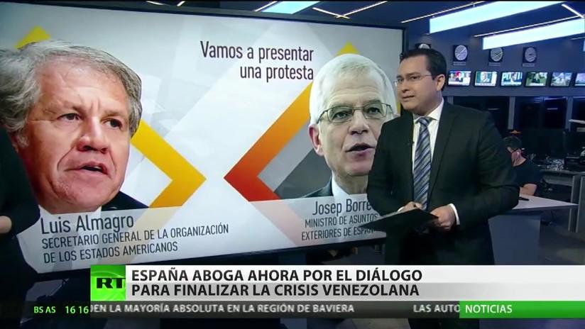España aboga ahora por el diálogo para poner fin a la crisis venezolana