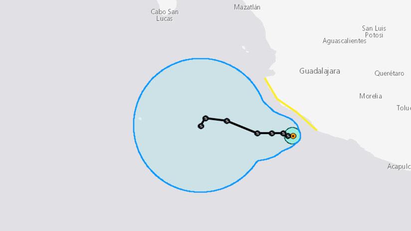 En México activan el 'Plan Marina' en prevención por la tormenta tropical Tara