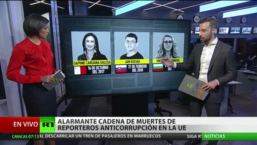 Una alarmante cadena de muertes de periodistas anticorrupción preocupa a la Unión Europea