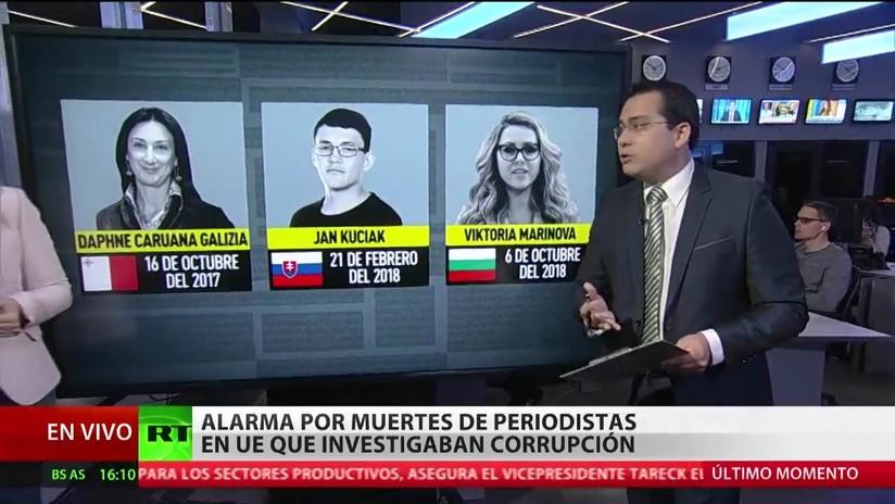 Alarma por la muerte de periodistas en la UE que investigaban hechos de corrupción