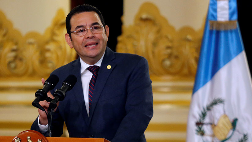 Congreso de Guatemala mantiene inmunidad para el presidente Jimmy Morales