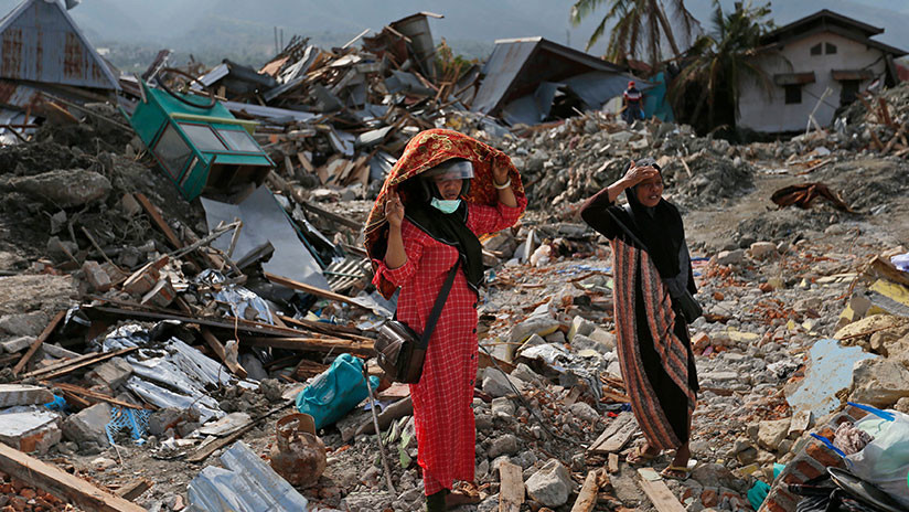 Autoridades de Indonesia trasladarán a los afectados por el terremoto a zonas más seguras