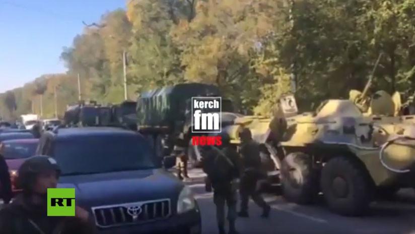 Crimea declara el estado de emergencia tras el atentado en una escuela técnica