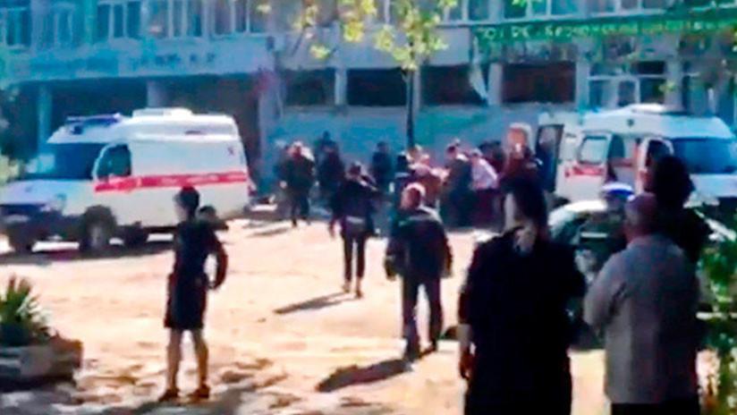 Al menos 17 muertos en ataque contra colegio en Rusia