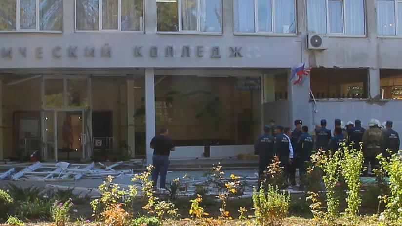 Identifican al autor del ataque en la escuela en Crimea
