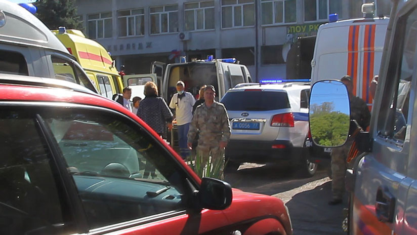 Ataque en colegio de Crimea deja al menos 17 muertos