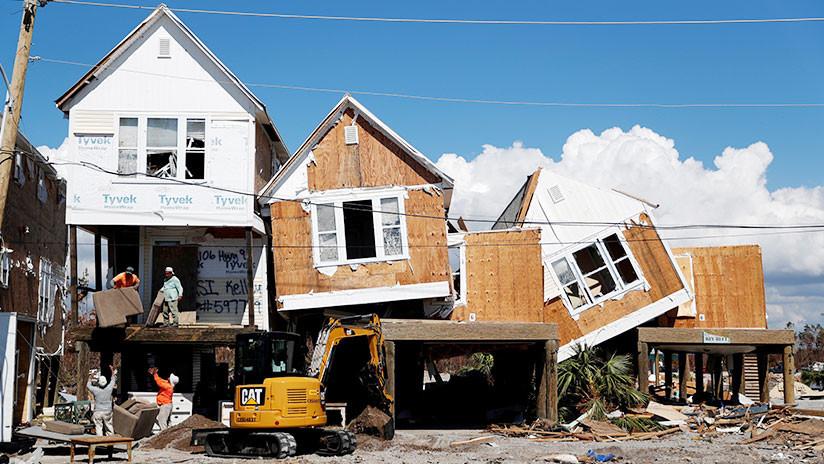 30 fallecidos dejó huracán Michael en EE.UU