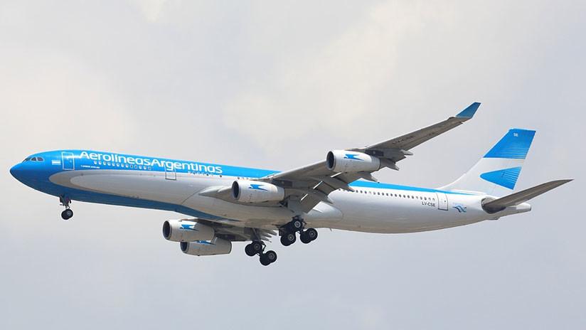 Una violenta turbulencia deja 15 heridos en un vuelo de Aerolíneas Argentinas (VIDEO, FOTOS)