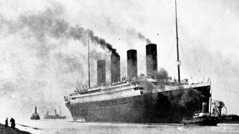 Subastan el menú de la primera cena en el Titanic