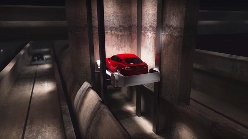 Elon Musk anuncia la fecha de apertura de un túnel futurista bajo Los Ángeles