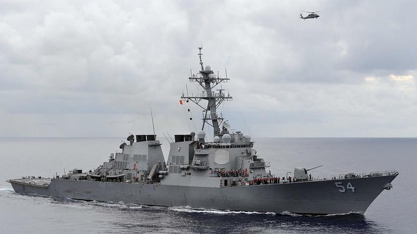 Dos buques de guerra de EE.UU. atraviesan el estrecho de Taiwán en plena tensión con China
