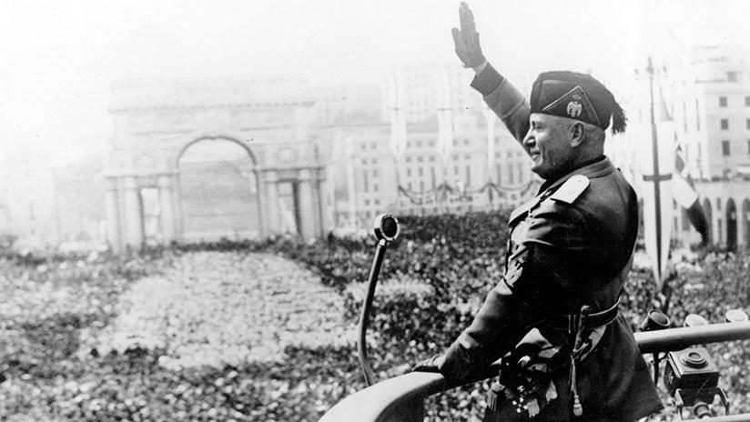 La nieta de Mussolini enciende la Red al amenazar con denunciar a quienes 'ofendan' a su abuelo