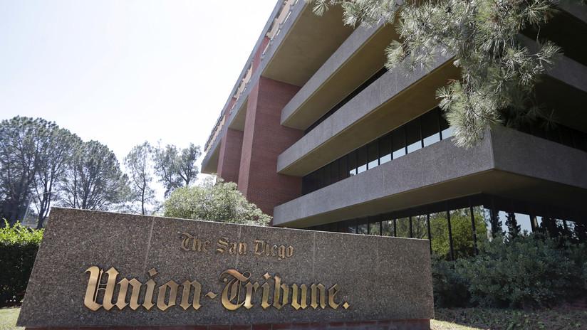 EE.UU.: Evacúan las oficinas de un periódico en San Diego por paquetes sospechosos