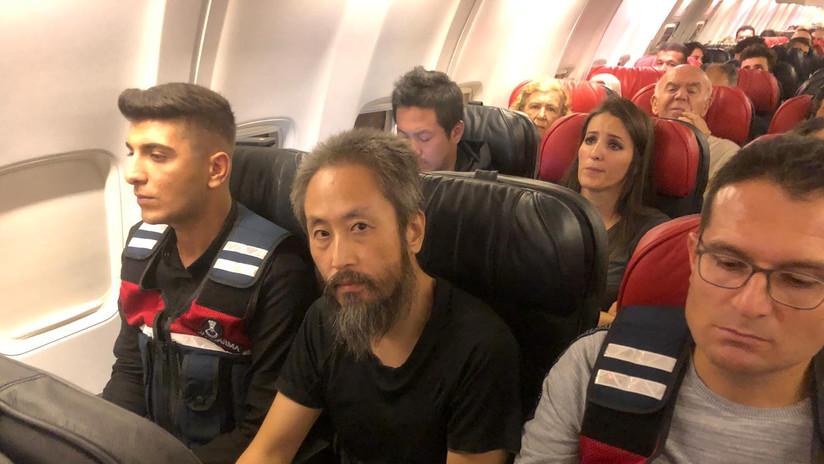 """Periodista japonés recobra la libertad tras 3 años de """"infernal"""" cautiverio terrorista en Siria"""