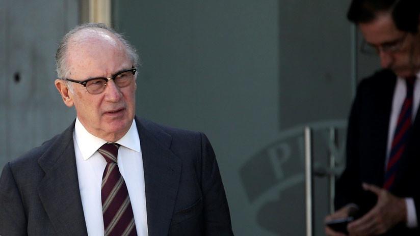 España: el exvicepresidente Rodrigo Rato entra en prisión por el caso de las 'tarjetas black'