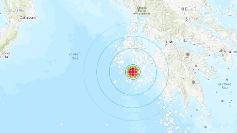 Terremoto de magnitud 6,8 sacude la costa de Grecia