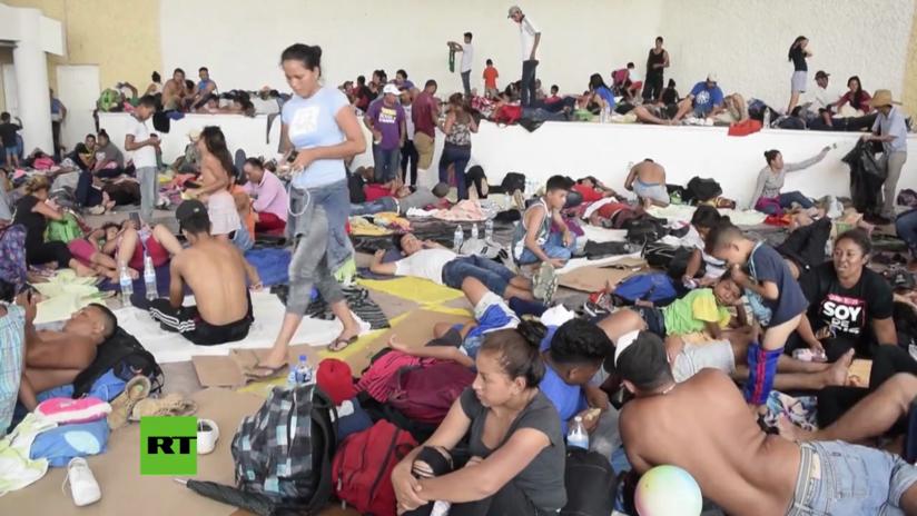 Migrantes revelan a RT por qué decidieron unirse a la caravana que se dirige hacia EE.UU.