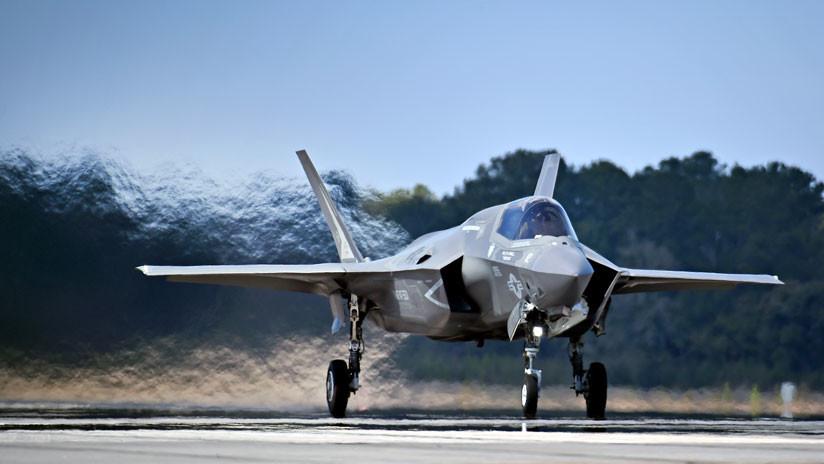 EE.UU. vuelve a retirar varios cazas F-35 para una nueva ronda de inspecciones