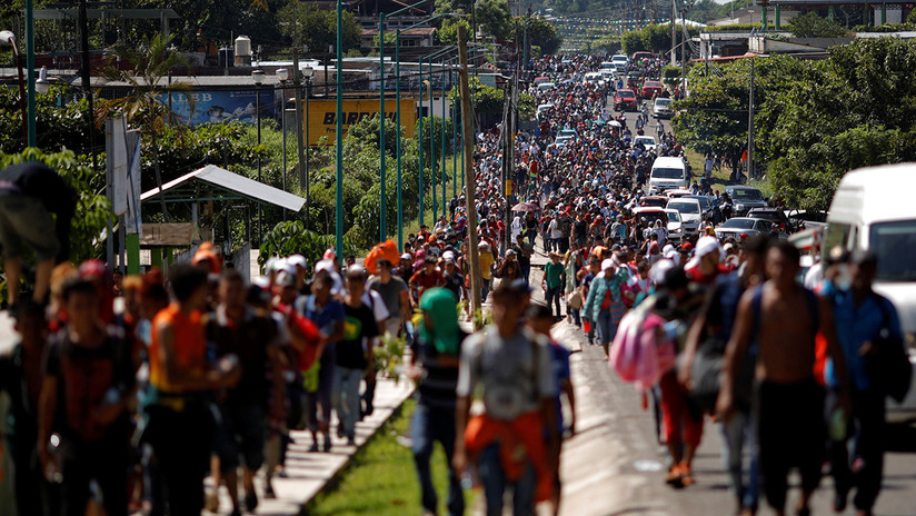 Caravana migrante rumbo a EE.UU.