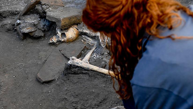 FOTOS: Nuevos restos de víctimas de Pompeya revelan detalles de los últimos momentos de su vida