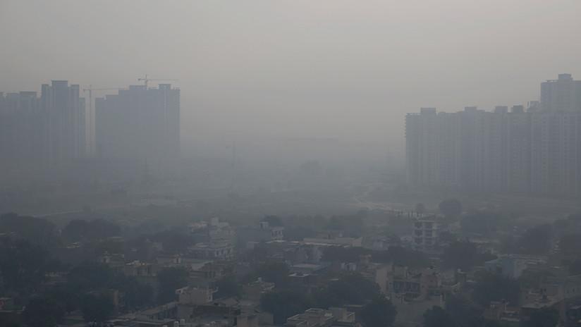 FOTOS: La contaminación del aire alcanza nivel 'severo' en la capital de la India