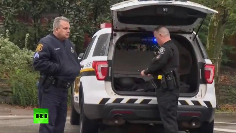 FOTOS, VIDEOS: Varios muertos por un tiroteo en una sinagoga de Pittsburgh, EE.UU.