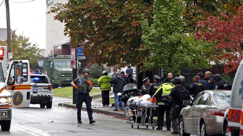 Identifican al autor del tiroteo que dejó varios muertos en una sinagoga de Pittsburgh, EE.UU.