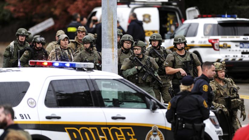 FOTO: Primeras imágenes del tirador de la sinagoga de Pittsburgh