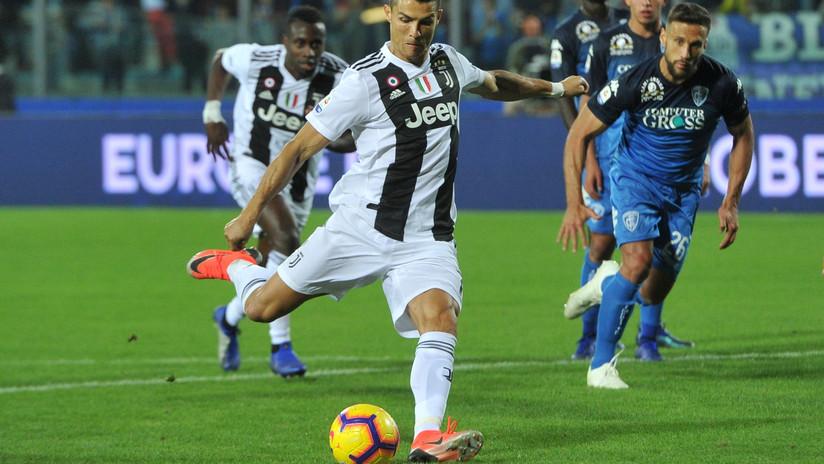 VIDEO: El golazo de Cristiano Ronaldo que le dio una victoria más a la Juventus