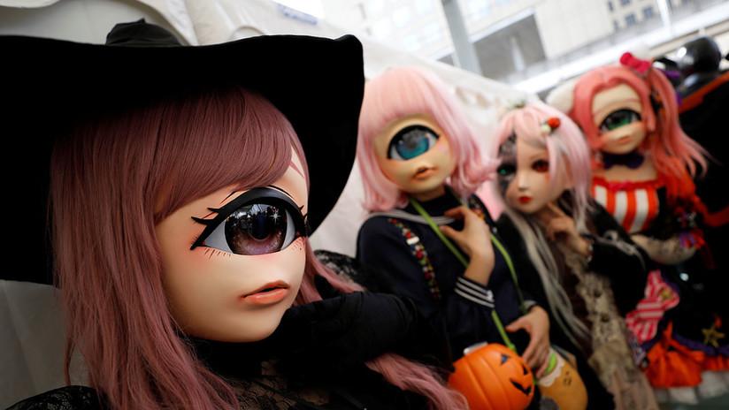 Robots, zombis y muchos más: Japón celebra el Halloween a lo grande