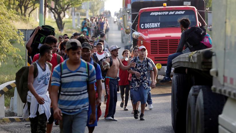 """EE.UU.: """"Todas las acciones posibles"""" están sobre la mesa para impedir la entrada de la caravana"""