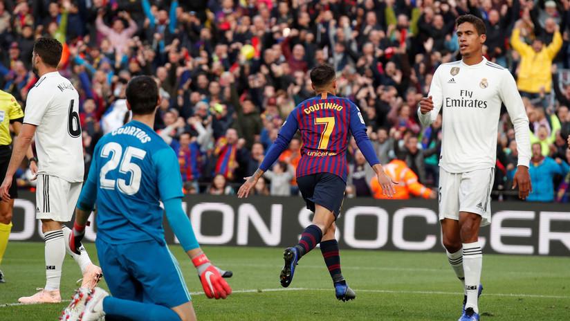 5 a 1: Barcelona apabulla al Real Madrid en el Clásico, con triplete de Suárez