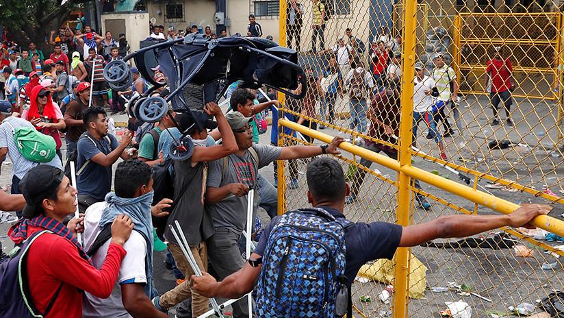 Un migrante muere y varios resultan heridos tras enfrentamiento en la frontera de Guatemala y México