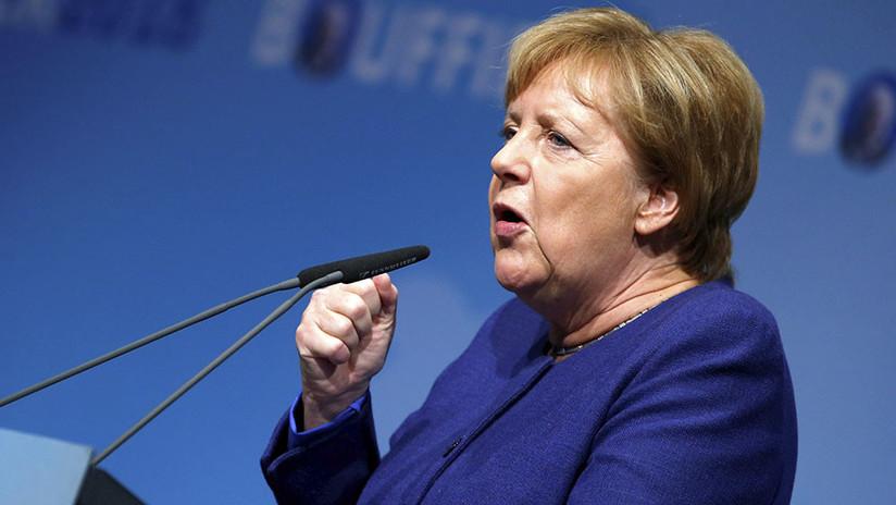 Merkel dejará el liderazgo del partido Unión Demócrata Cristiana