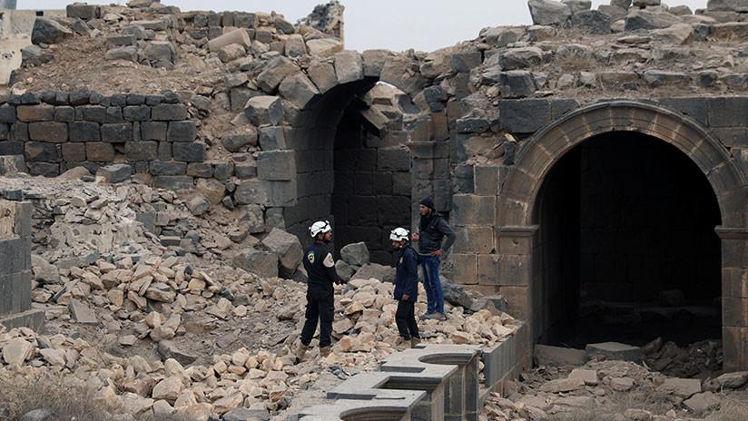 Rusia en la ONU: Cascos Blancos y Al Nusra hacen traslados con sustancias venenosas en Idlib
