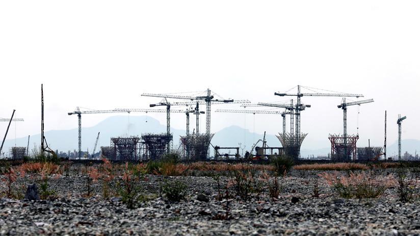 Peña Nieto asegura que la construcción del nuevo aeropuerto de Ciudad de México sigue adelante