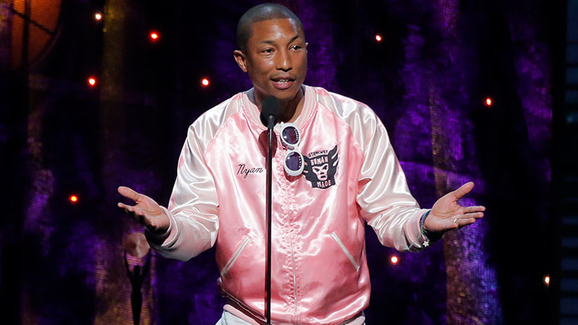 Pharrell Williams niega a Trump uso del tema 'Happy'