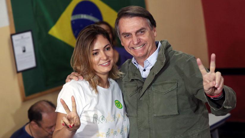 ¿Quién es Michelle Bolsonaro, la primera dama de Brasil?