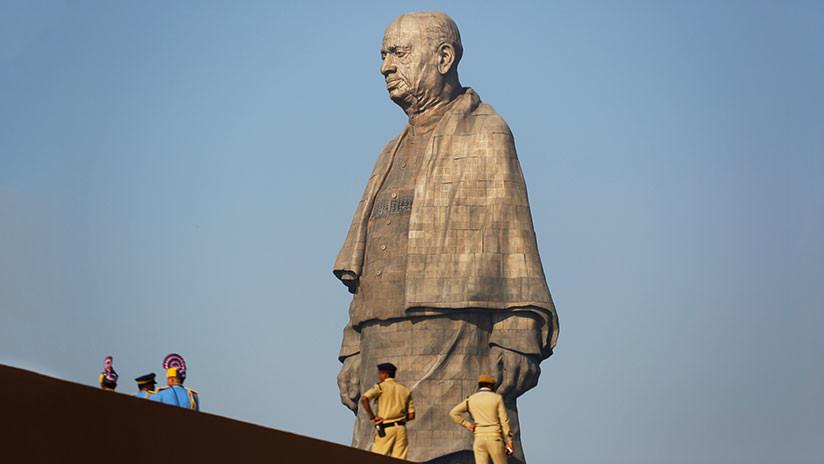 Cinco veces Cristo Redentor: La India inaugura la estatua más alta del mundo (VIDEO)