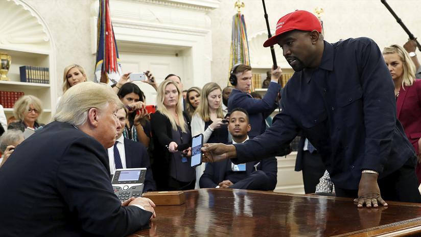 Kanye West dice que se alejará de la política tras sentirse