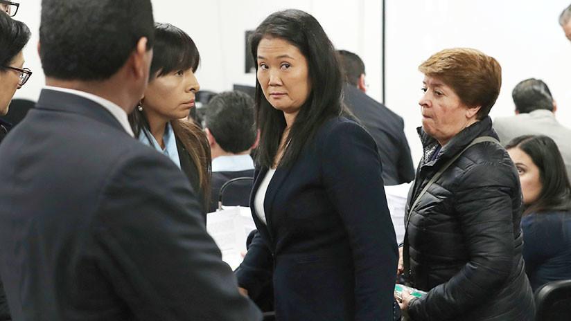 Justicia peruana ordena prisión preventiva para Keiko Fujimori