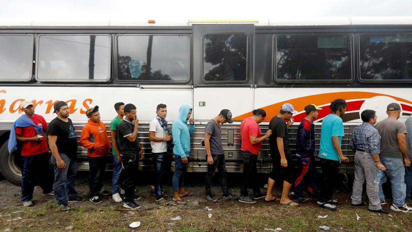 Varios miles de inmigrantes Hondureños rumbo a EEUU 5bc9cab4e9180ff7598b4567