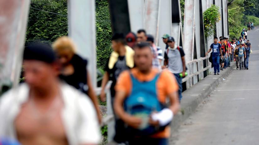 Varios miles de inmigrantes Hondureños rumbo a EEUU 5bc9cb0508f3d9aa278b4567