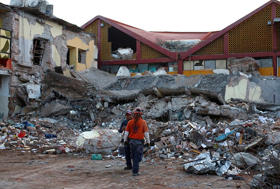 Terremoto de 2017 en México partió una placa tectónica en dos: Alertan que  habrá más y con tsunamis - RT