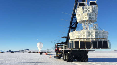 La Antena Antártica de Impulso Transitivo (ANITA).