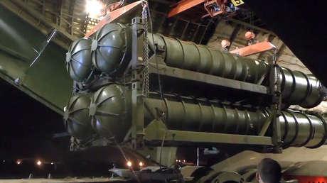 Los complejos С-300 rusos entregados a Siria.